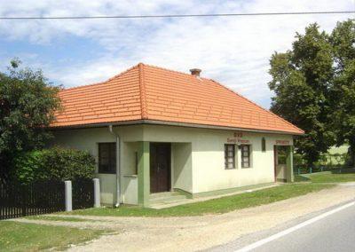 Društveni dom – G. Hrašćan – krovna konstrukcija