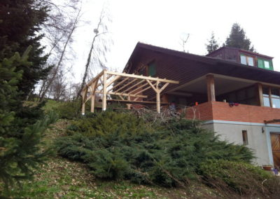 Vikend kuća – izrada pergole